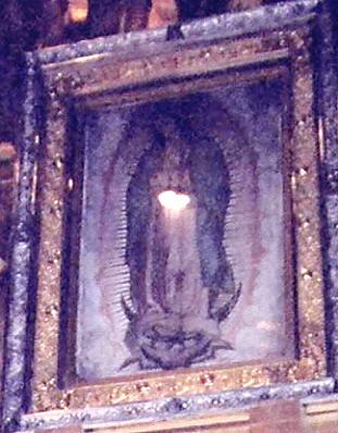 Die Tilma von Guadalupe - Allmystery